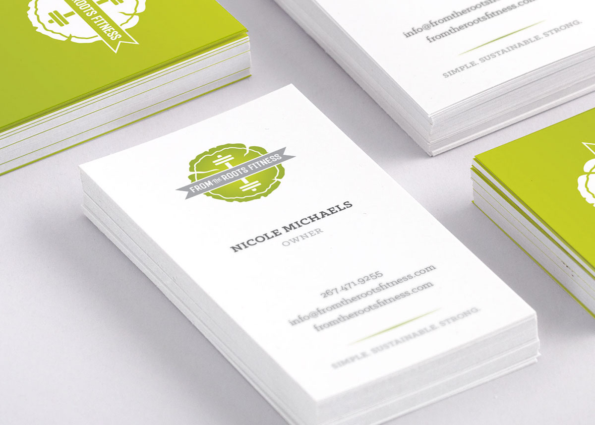 From The Roots Fitness On Behance