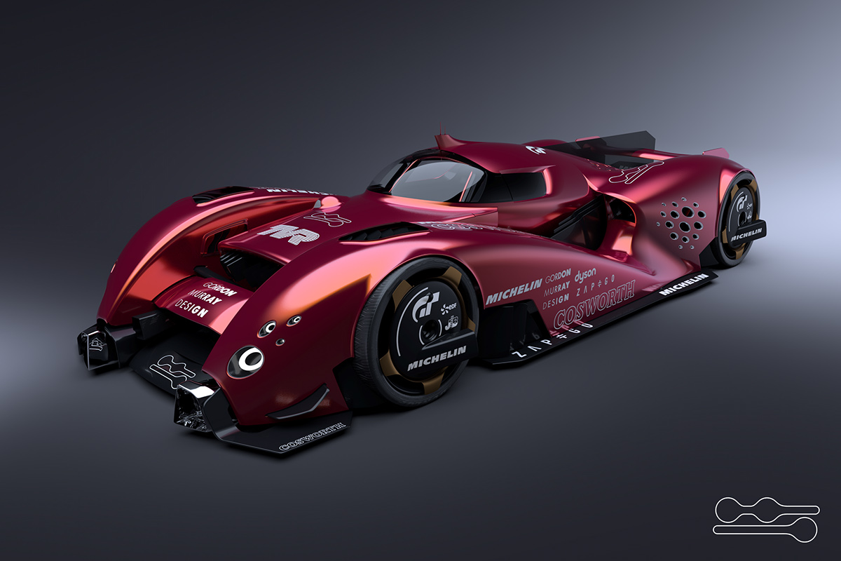 Tvr Lm30r For Michelin Challenge Design On Behance