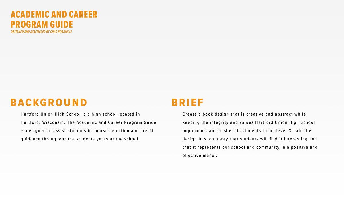 Academic and Career Program Guide on Behance