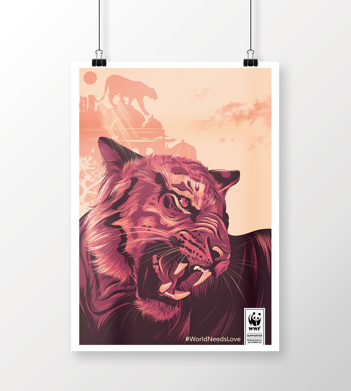 Wwf Poster Campaign On Behance