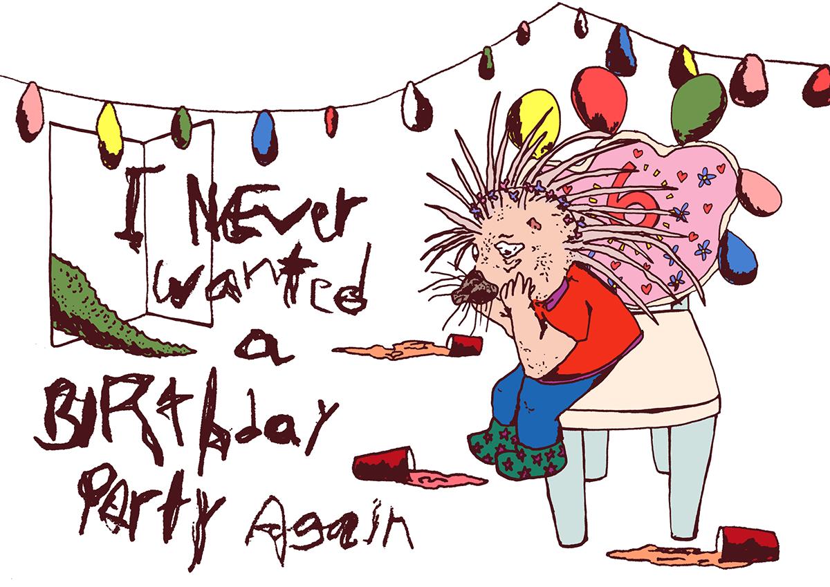 Birthday party comics series uncanny