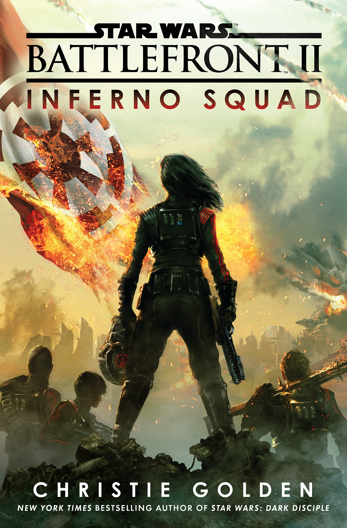 star wars battlefront Inferno Squad book cover Two Dots Lucasfilm penguin random house cover Dark side