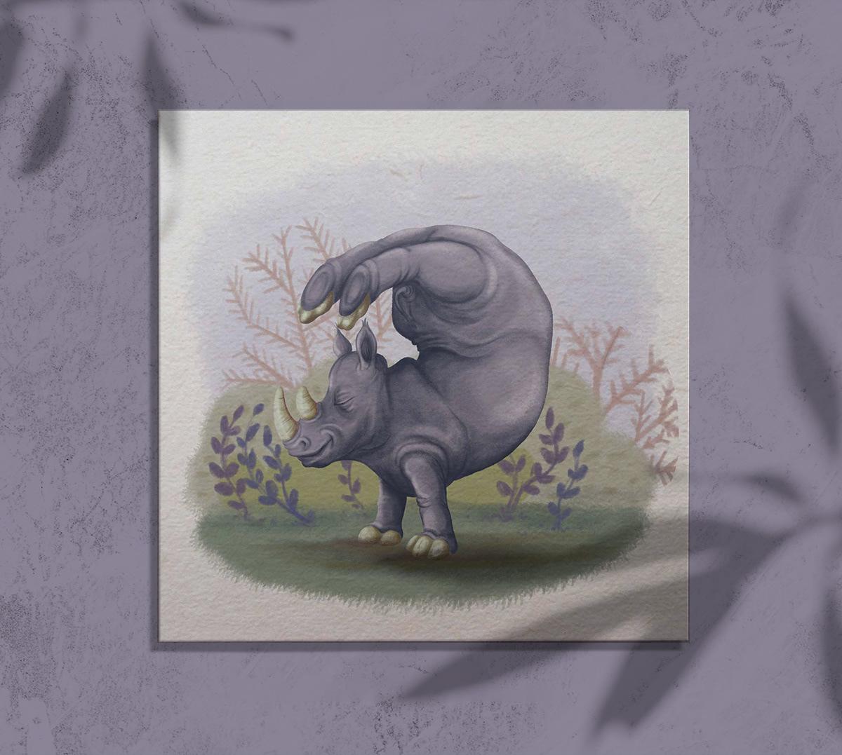 Image may contain: drawing, animal and cartoon