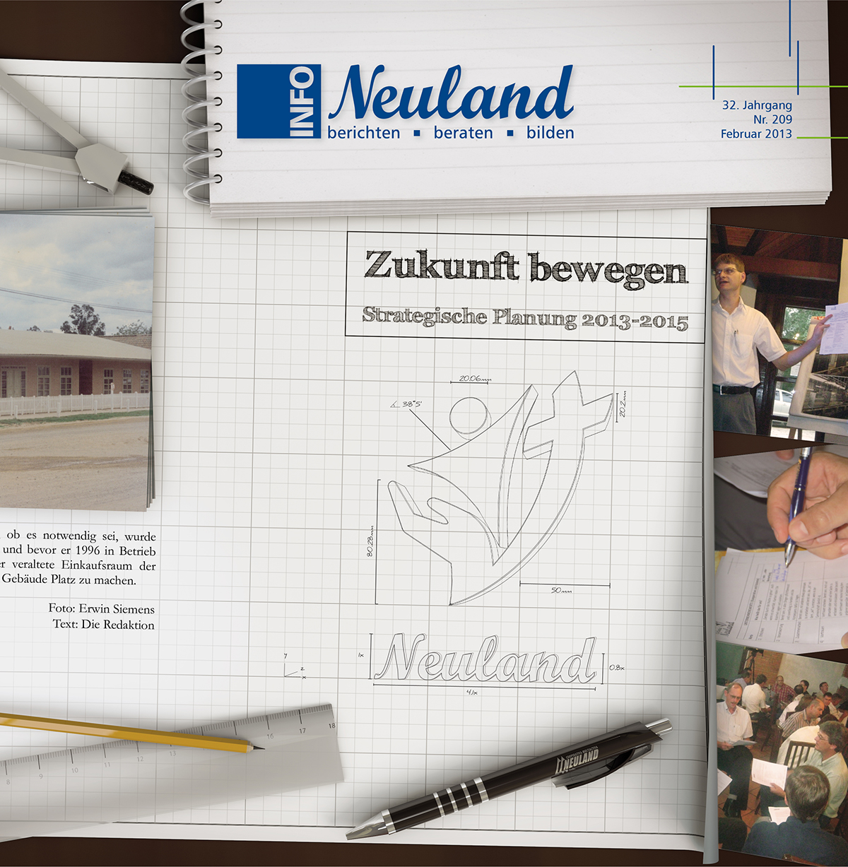 cover magazine neuland