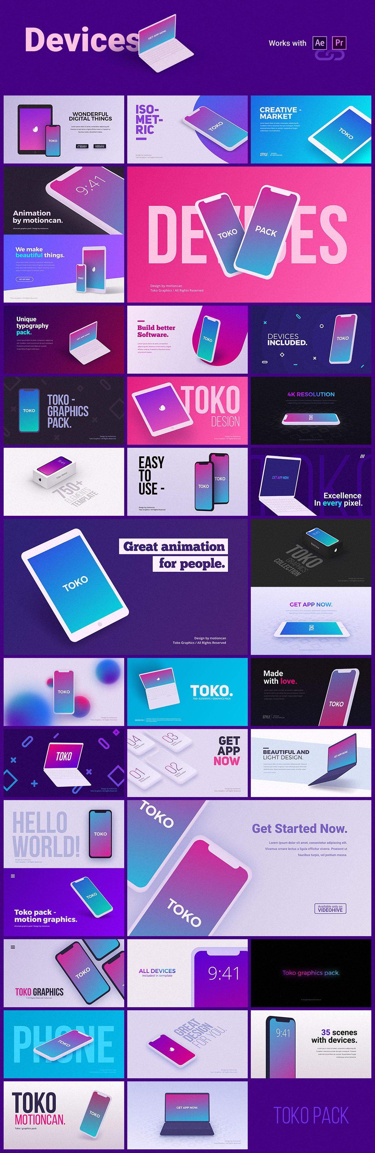 animation  backgrounds bundle corporate titles kinetic Lower Thirds Pack presentation shapes social