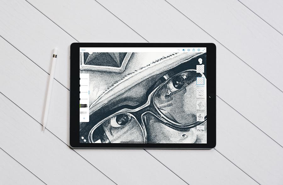 alvin chong Sullen Clothing sullen artist portrait ipad art sketch Drawing  Digital Art