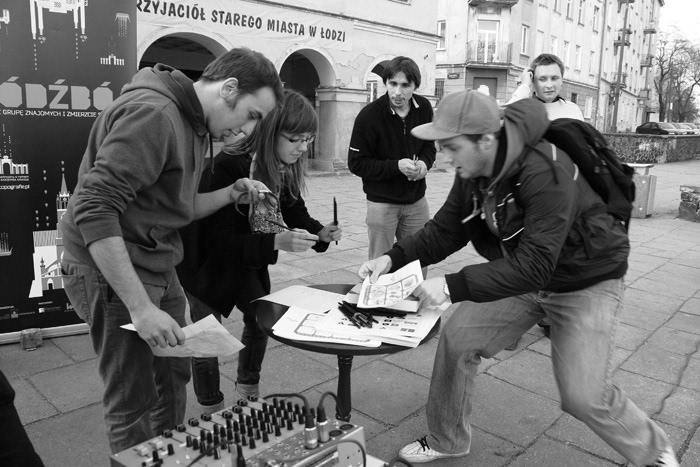 łódźbój Education street game city game regional education