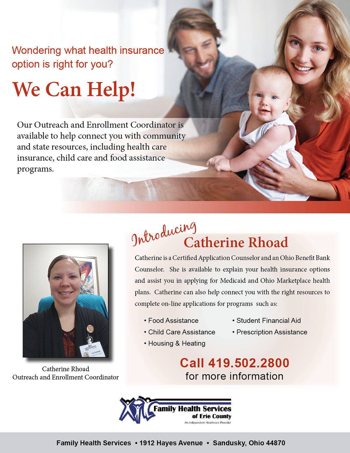 Family Health Services Of Erie County On Behance