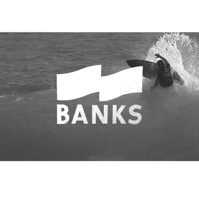 #banksbrand brad gerlach banks Surf Surfbrand logo brand chris del moro jamglejam japan Australia eco Sustainable organic