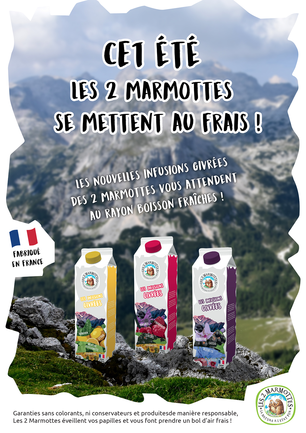 les 2 marmottes infusions froides Ecoles ARIES guillaume breant the