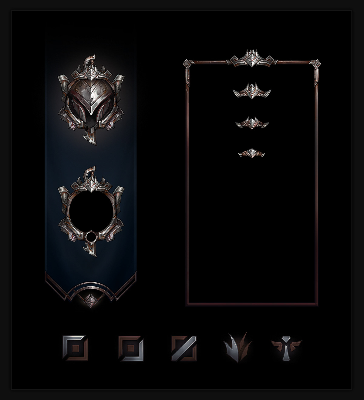 Ranked Ui Assets League Of Legends On Behance