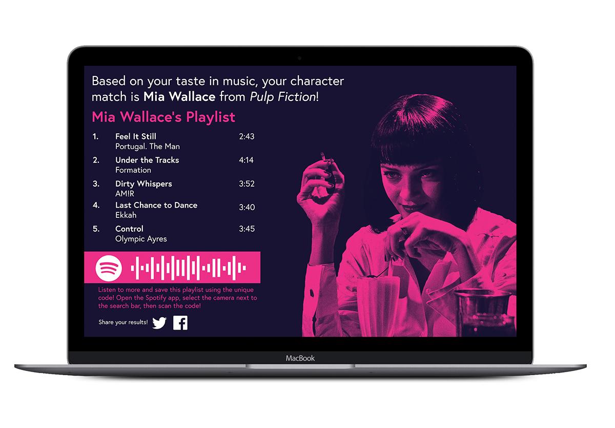 Spotify x Movies on Behance