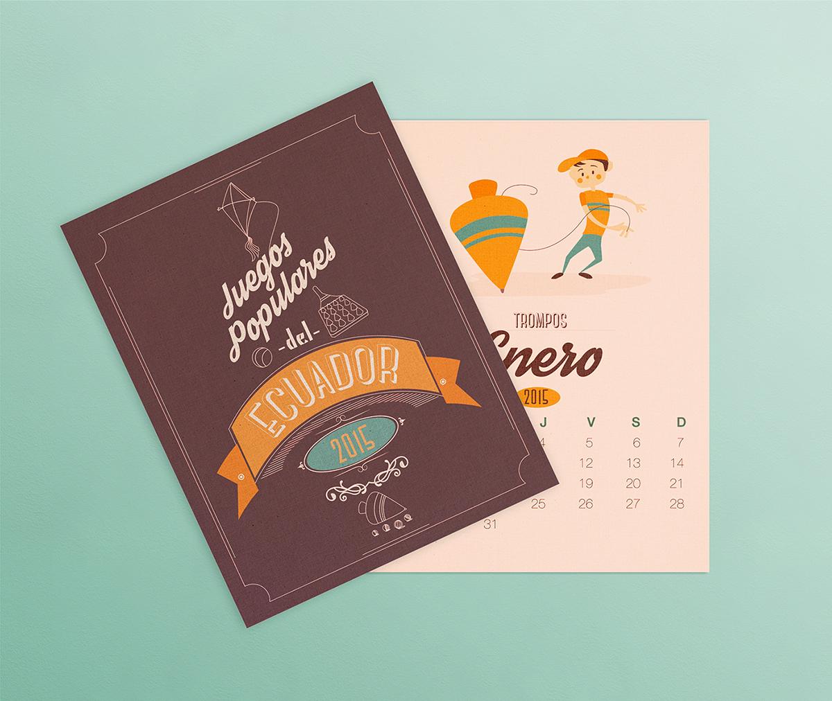 Calendario 2015 G A Juegos Populares Del Ecuador On Wacom Gallery
