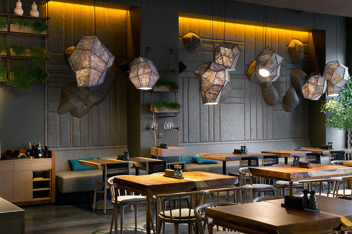 yod design studio yod restaurant design Interior ukraine дизайн Киев паназиатский ресторан интерьер Pan-Asian