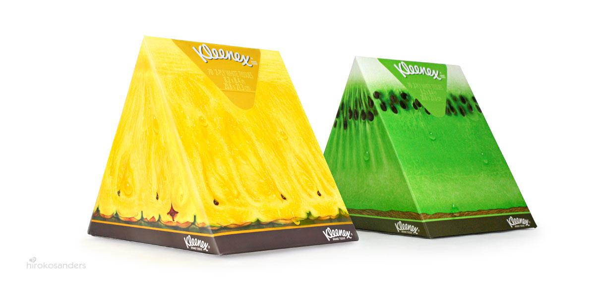 Slice of Summer: Kleenex® Brand  fruit wedge series