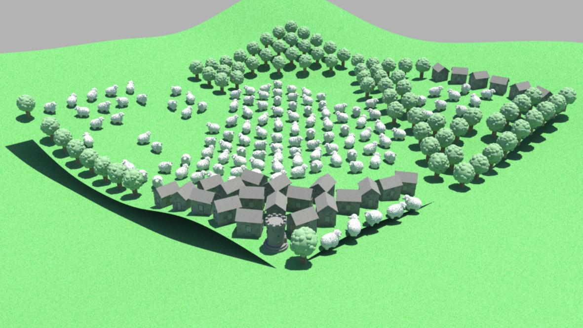 Landscape Generator on Behance