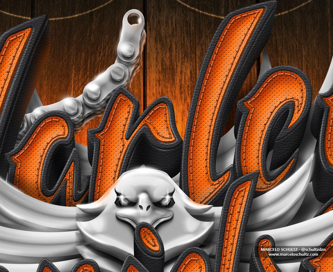 harley Harley Davidson motorcycles photoshop sketch schultz Marcelo Schultz Ilustração desenho