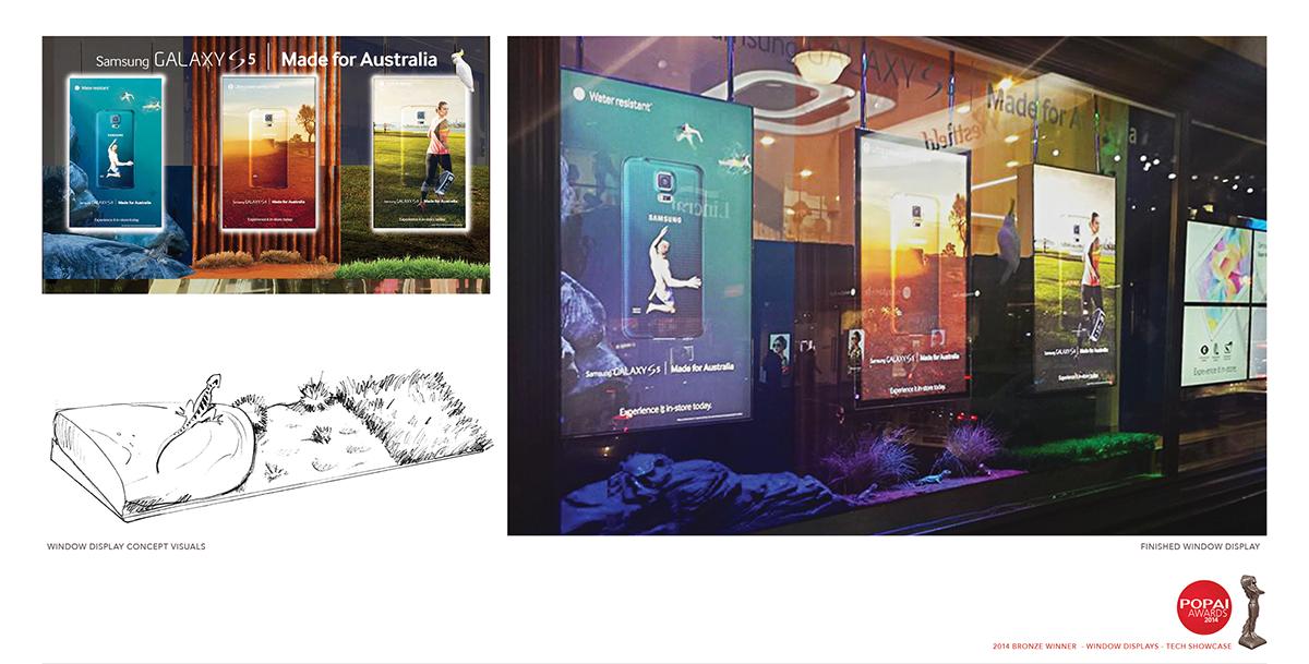 Award-Winning Samsung Retail Display Concepts on Behance