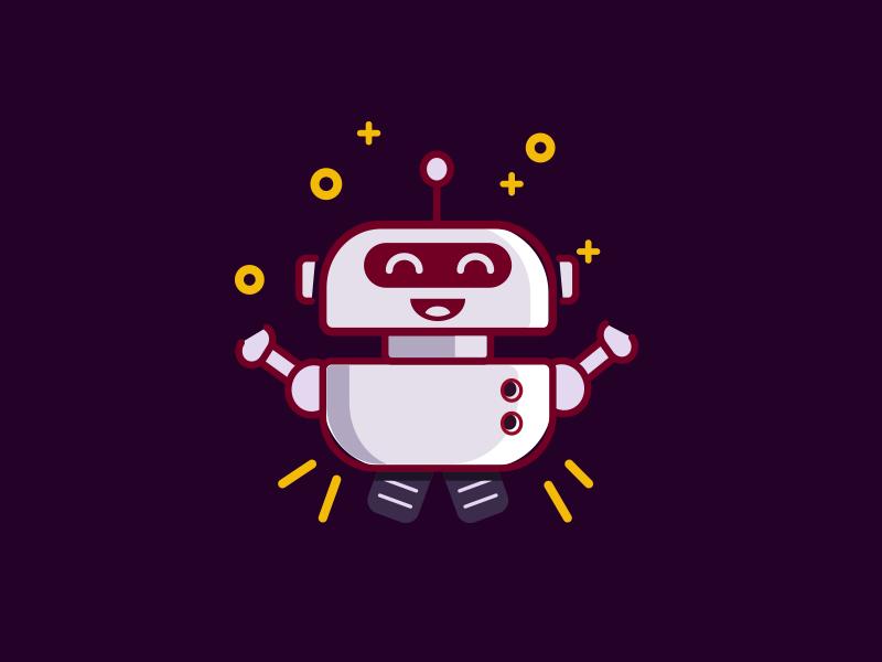 bot empty error illustration mopbile app robot state