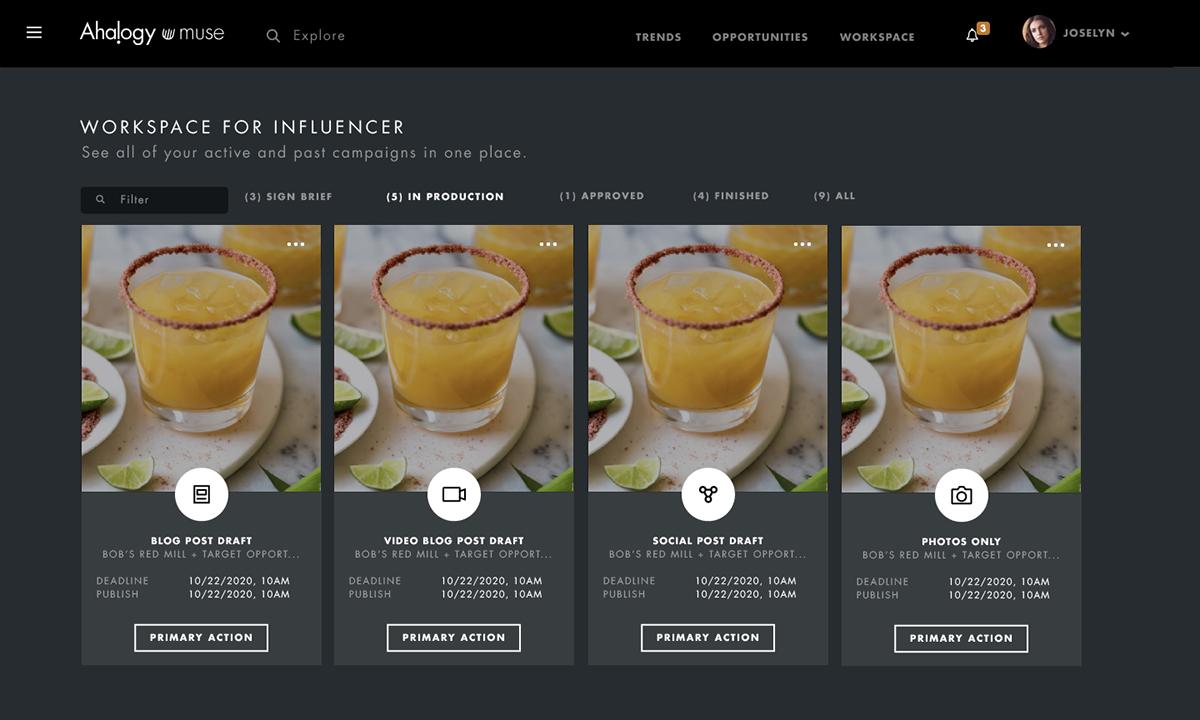 analytics dashboard graphic design  influencer marketing Interaction design  product design  UI ux