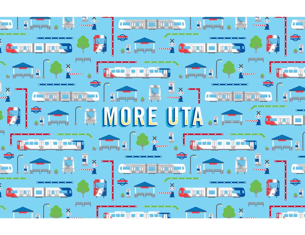 Sarah Petersen Portfolio - UTA Weekend Promotion collateral