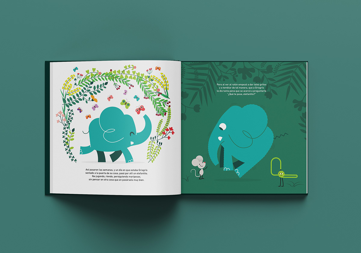 book children elephant grisgris mouse