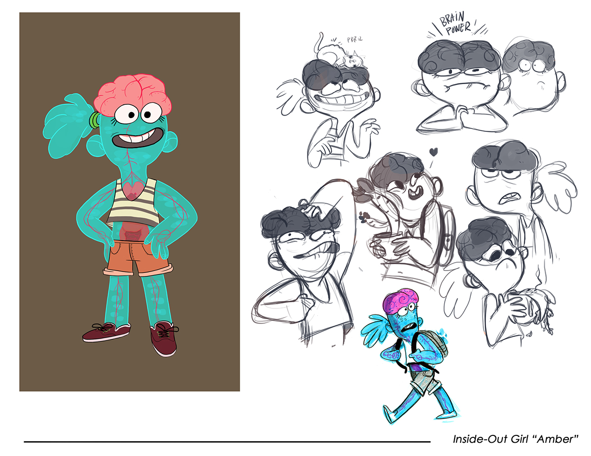 Character Design Quiz : Character test disney quot pickle and peanut on behance