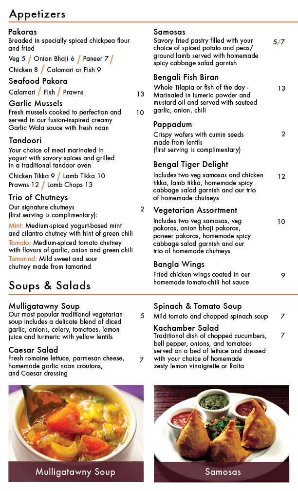 bengal tiger restaurant menu design on behance