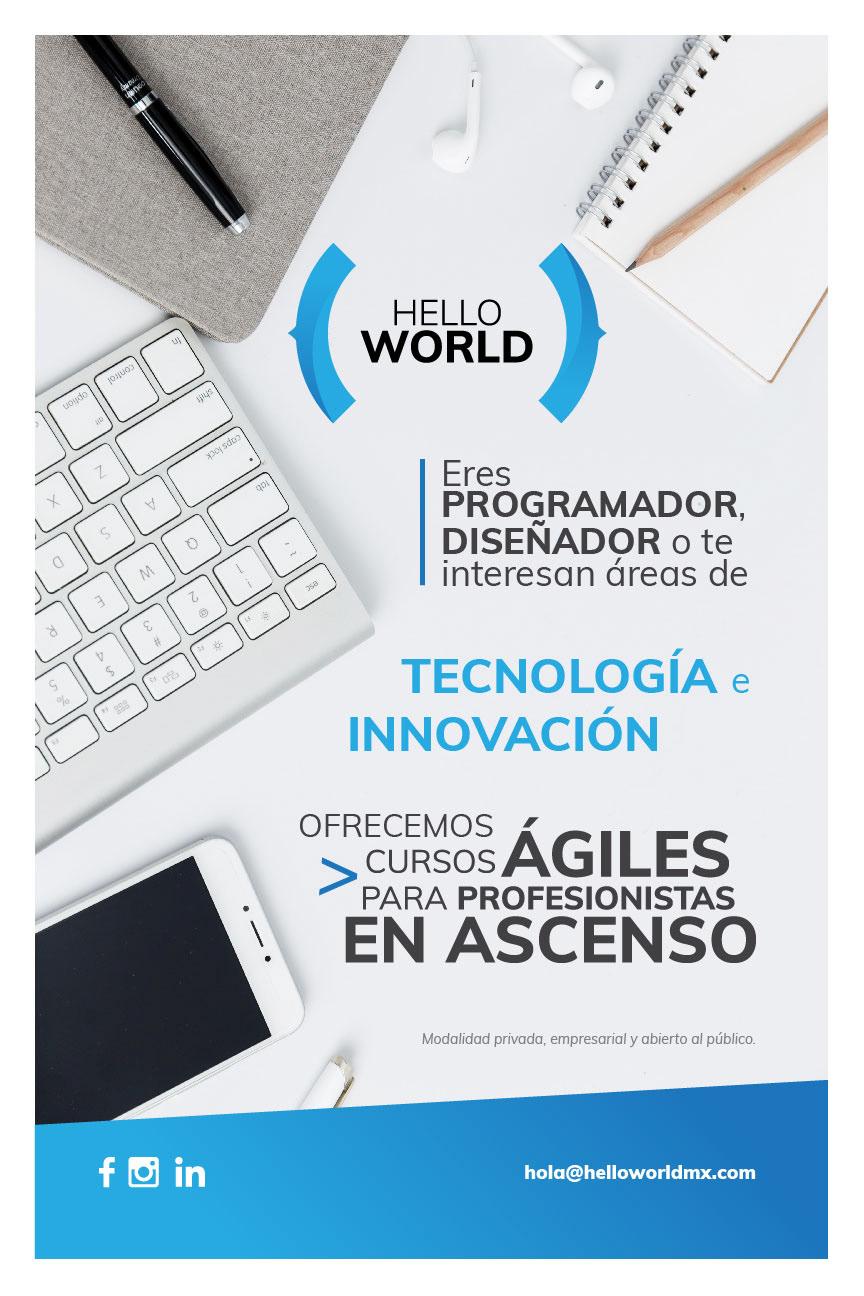 hello world tech dev design tijuana mexico cursos escuela software