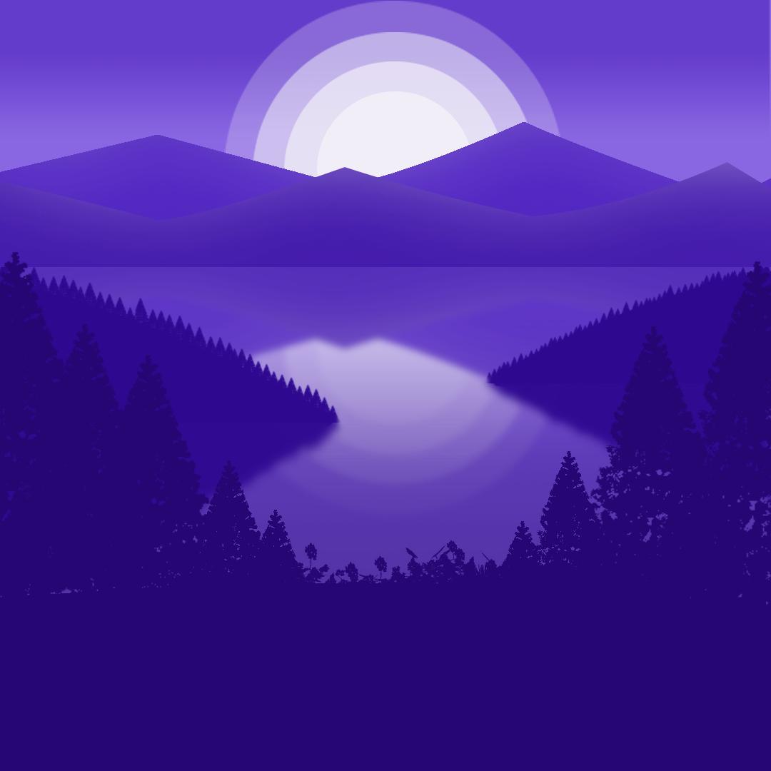Purple Sunset On Behance
