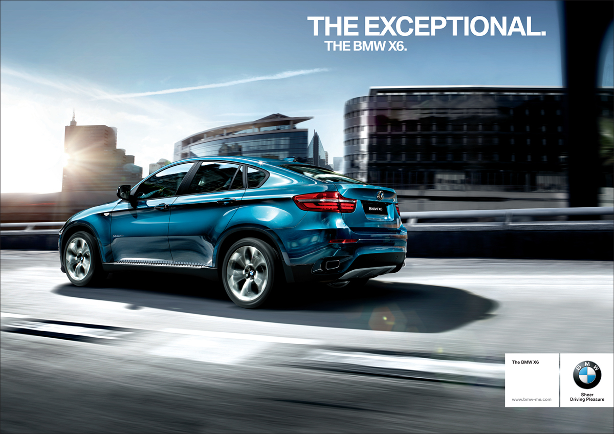 The Bmw X6 On Behance