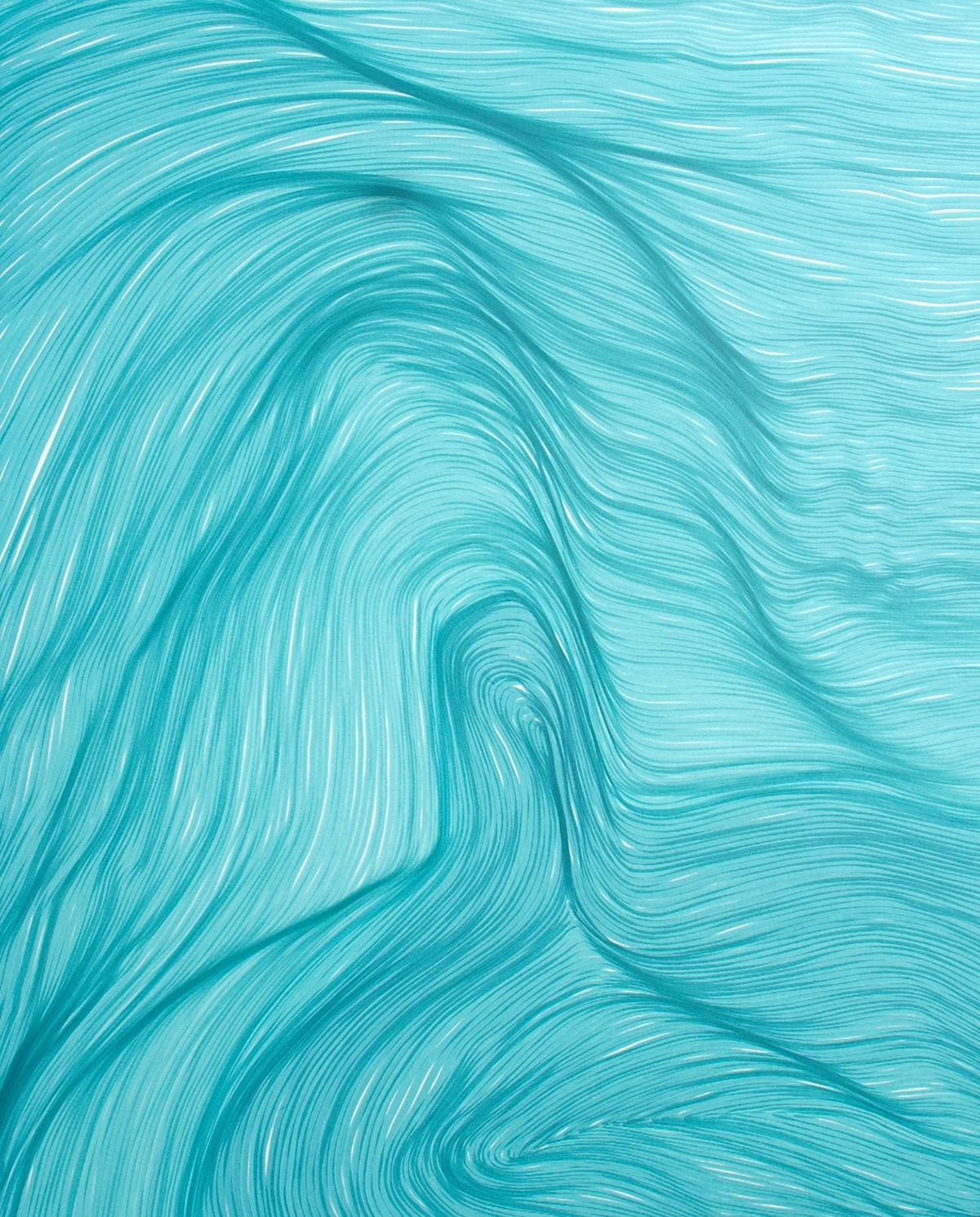 Image may contain: abstract, water and aqua
