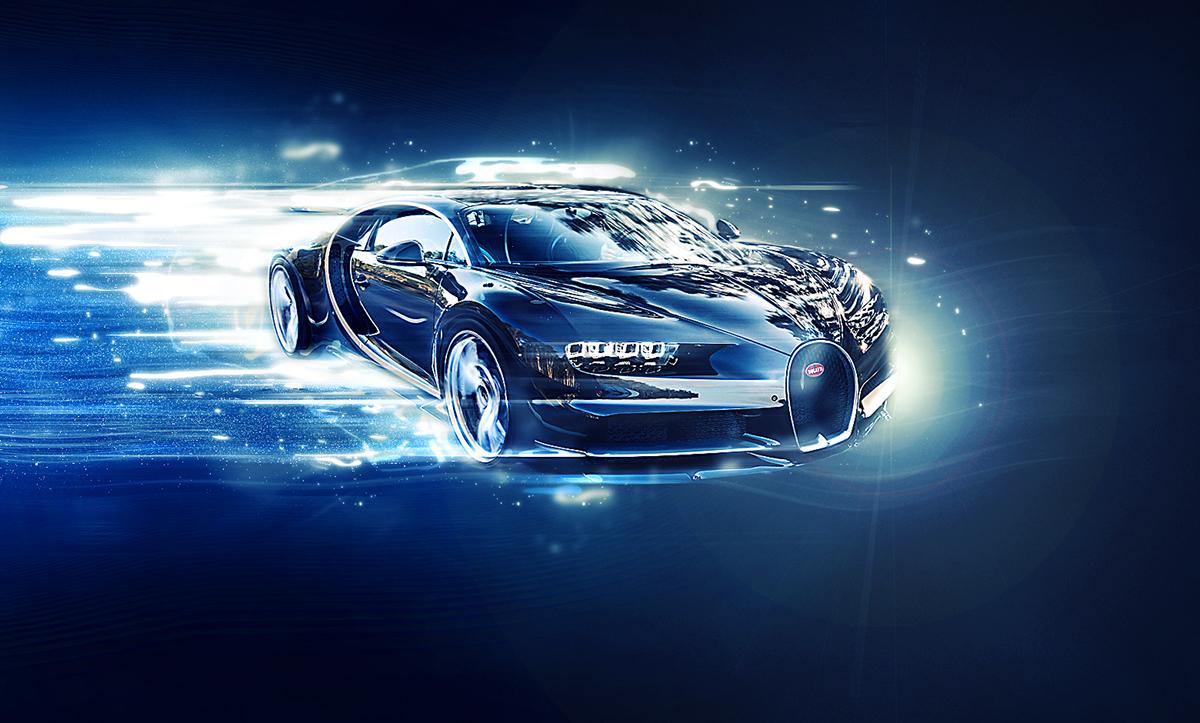 Bugatti Chiron On Behance