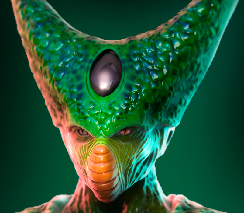 Imperfect Cell | ZBrush Sculpt on Behance