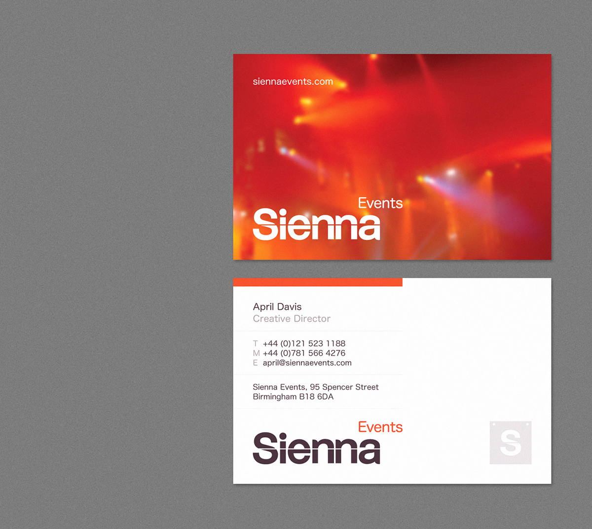 Sienna events branding on behance thank you malvernweather Image collections