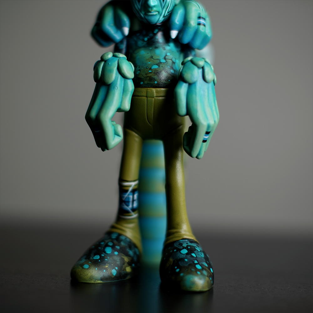 Jade Dragon Purple Sky Custom Toy On Behance