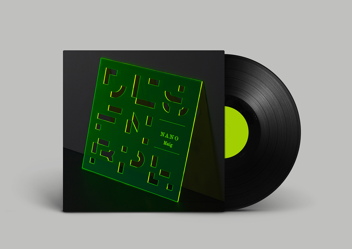 rap cover Album methacrylate type