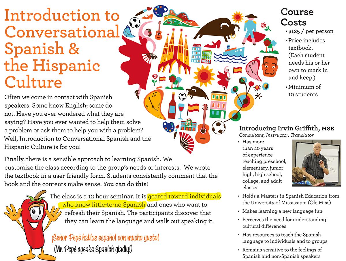Spanish for Living on Behance