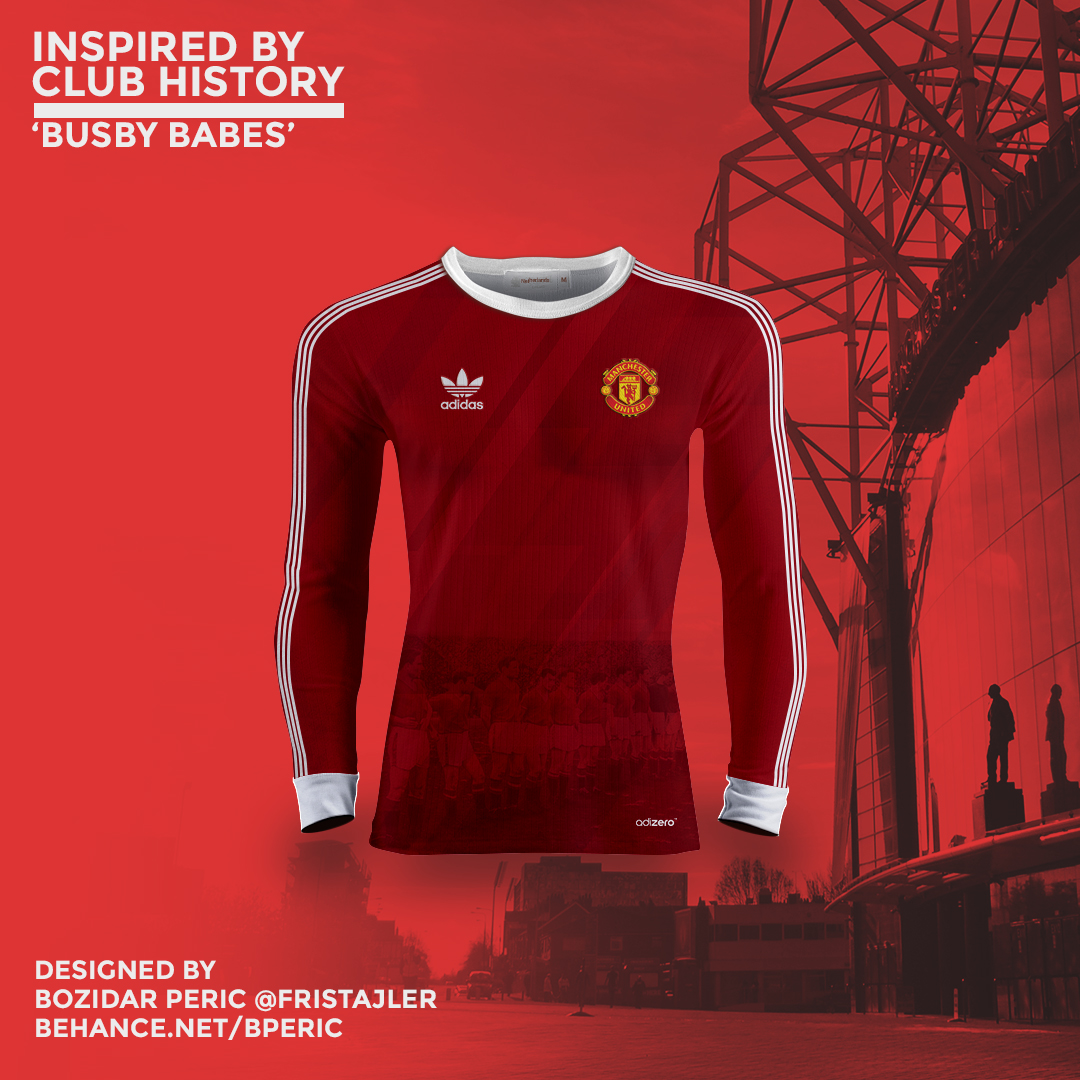 65e854c64 Manchester United   Kits Concept - Inspired by history on Behance
