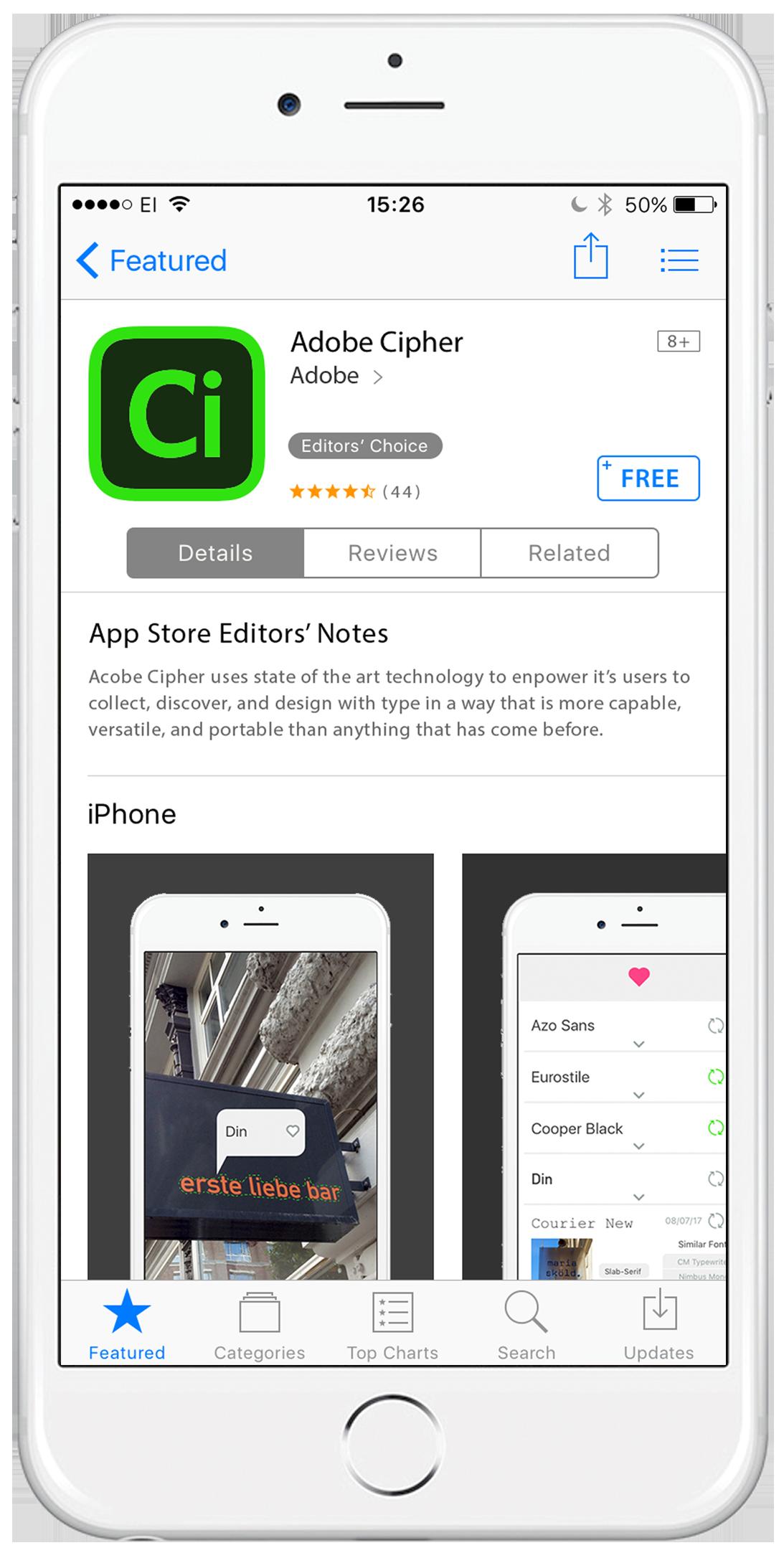 Adobe Cipher: App Design on Behance
