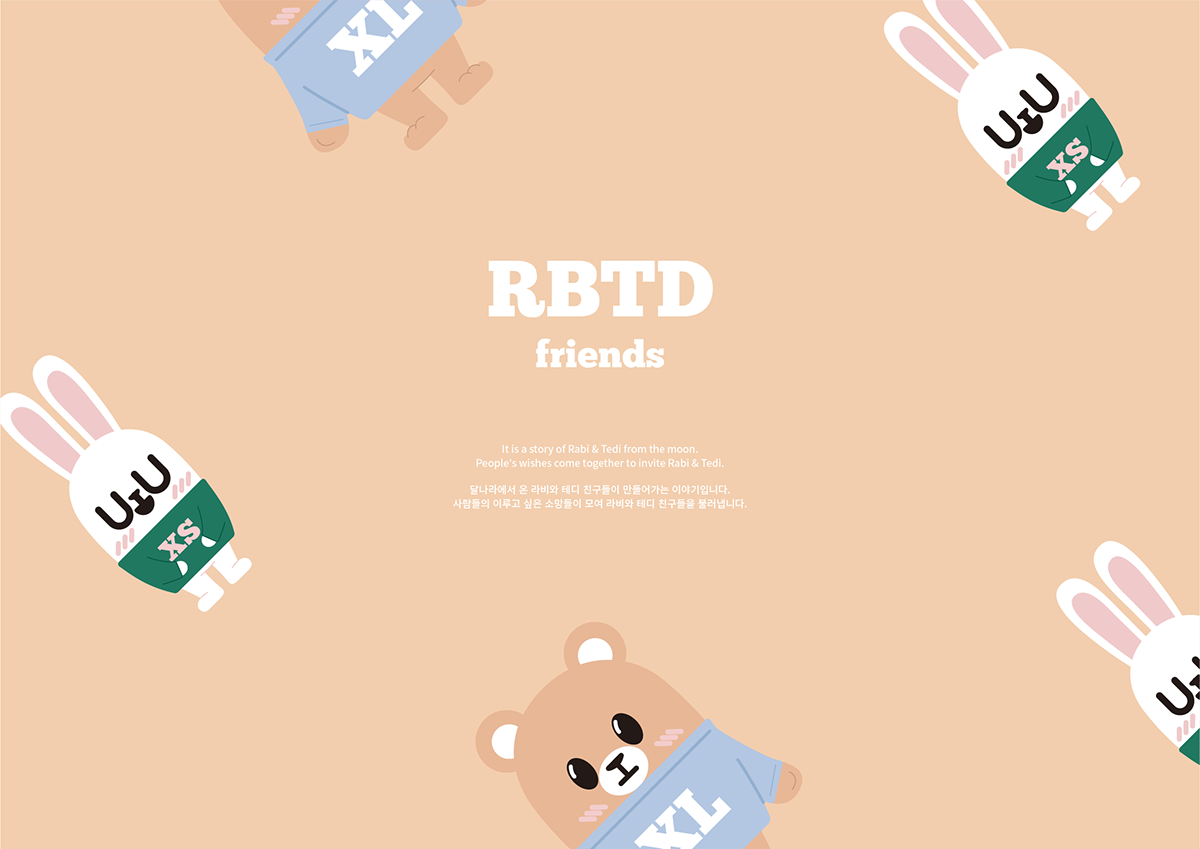 RBTD - Character Manual-book & illustration on Student Show