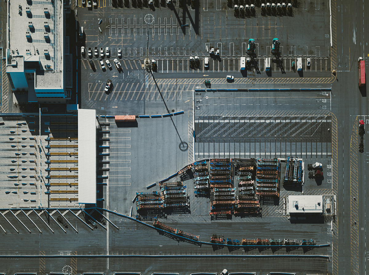 Aerial Photography airport aviation California fine art helicopter industrial Los Angeles Mitch Rouse Aerials transportation