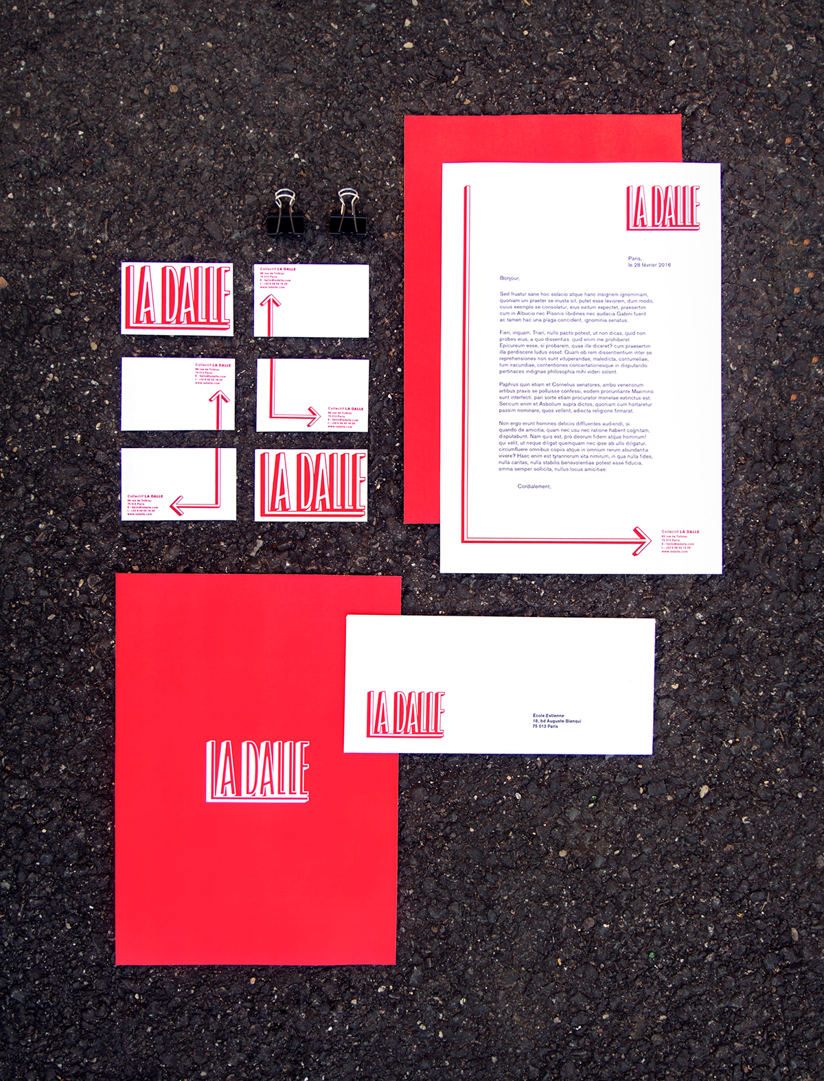 agency identity collectif self branding associatif   graphisme engagé red typography   auto promotion