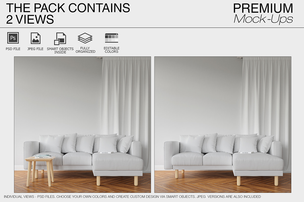 Surprising Sofa Pillows Curtains Mockup Pack On Wacom Gallery Andrewgaddart Wooden Chair Designs For Living Room Andrewgaddartcom