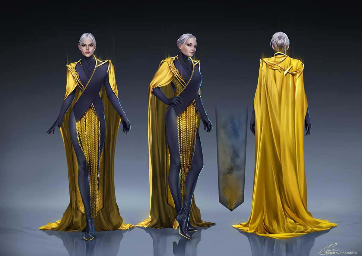 Character Analysis For Costume Design : Valerian costume design on behance