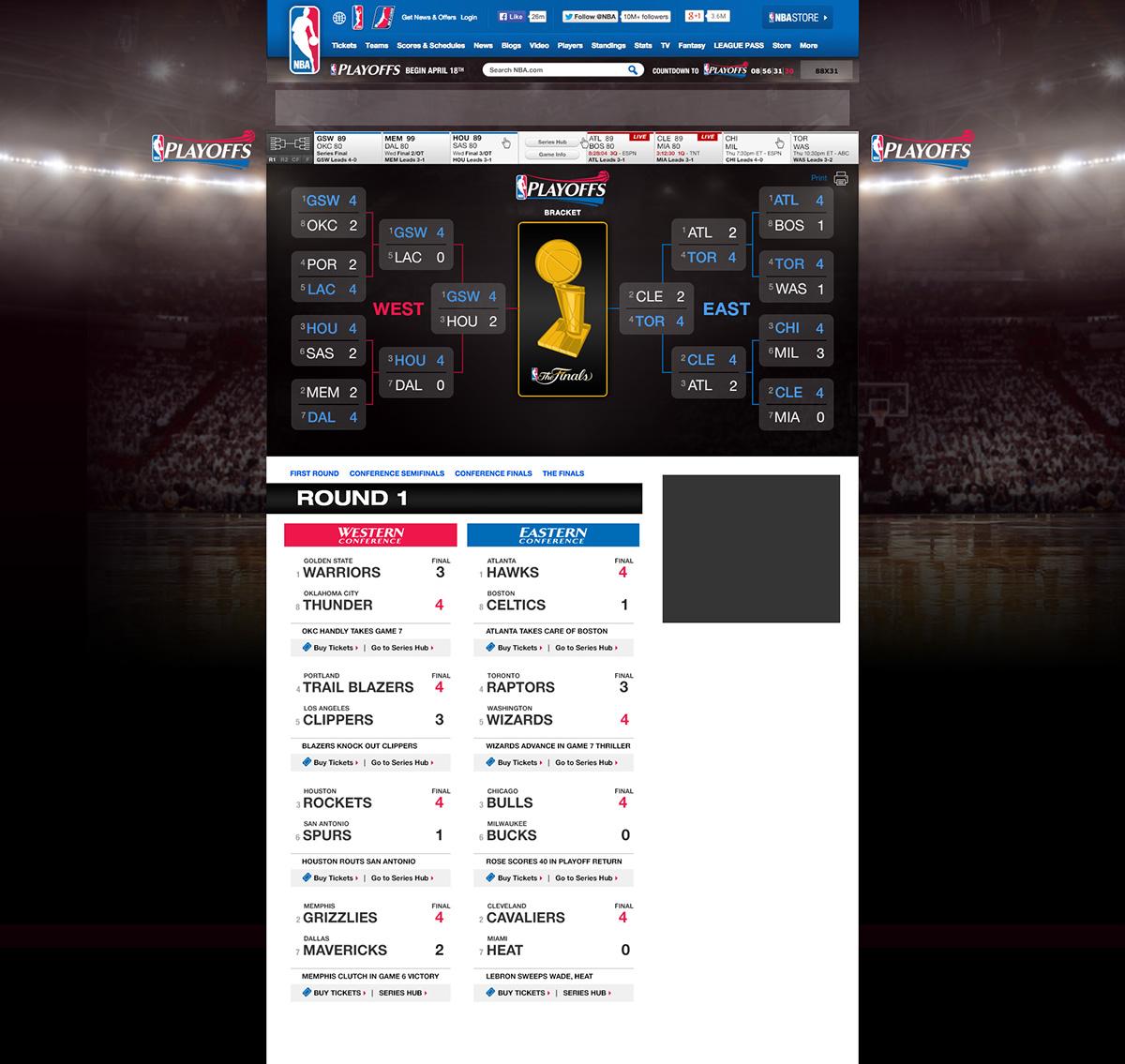 NBA sports basketball Playoffs