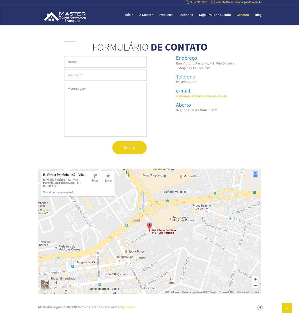 Website Master Consignados