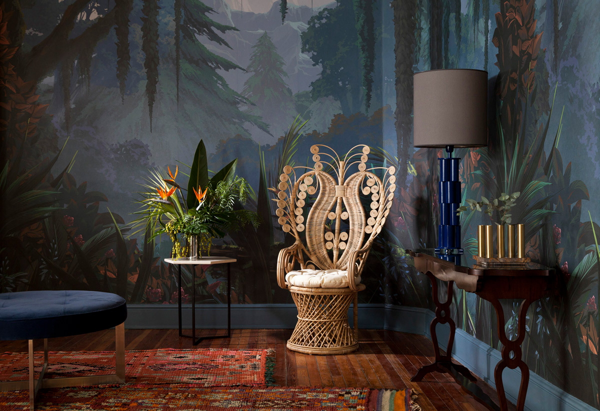 Set Design Art Direction For Wallpaper Catalogue On Behance