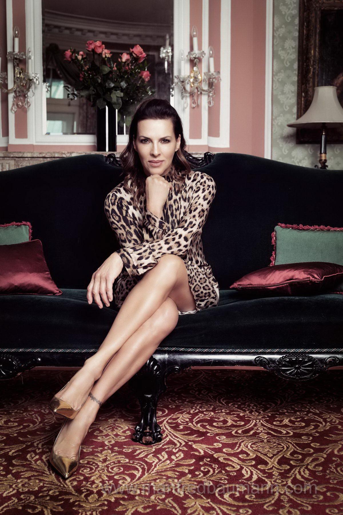 Sabine Petzl - Austrian actress & tv presenter on Behance