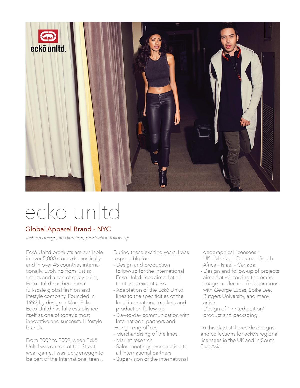 Apparel and footwear design for ecko unltd brand on Behance